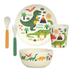 petit collage eco-friendly bamboo dinnerware
