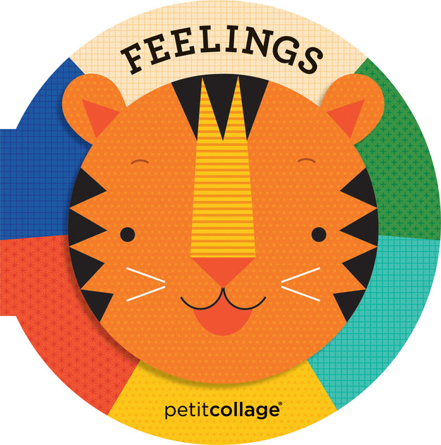 Petit Collage Book Feelings Cover