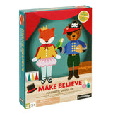 petit collage make believe animals magnetic dress up