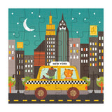 petit collage new york city taxi petit puzzle 24 pcs detail