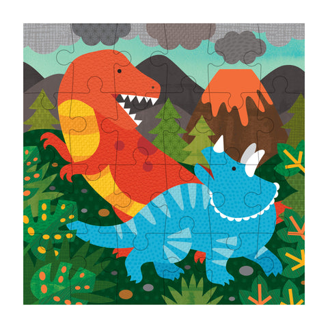 petit collage dinosaur petit puzzle 24 pieces