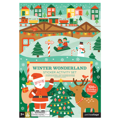 petit collage winter wonderland sticker activity kit 1