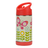 Stainless Steel Butterflies Water Bottle