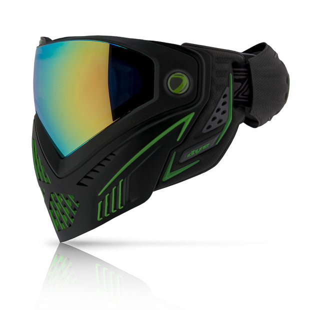 DYE i5 Goggle- Emerald Blk/Lime NEW 2.0