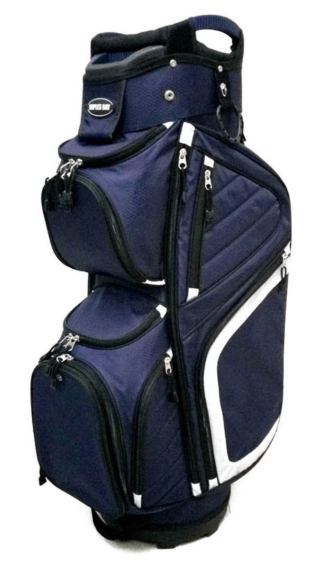 C290P 2 Color Solid Bag - Navy White bd1db9ca0494a