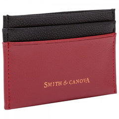 Картхолдер Smith & Canova 26827 Devere (Red-Black)