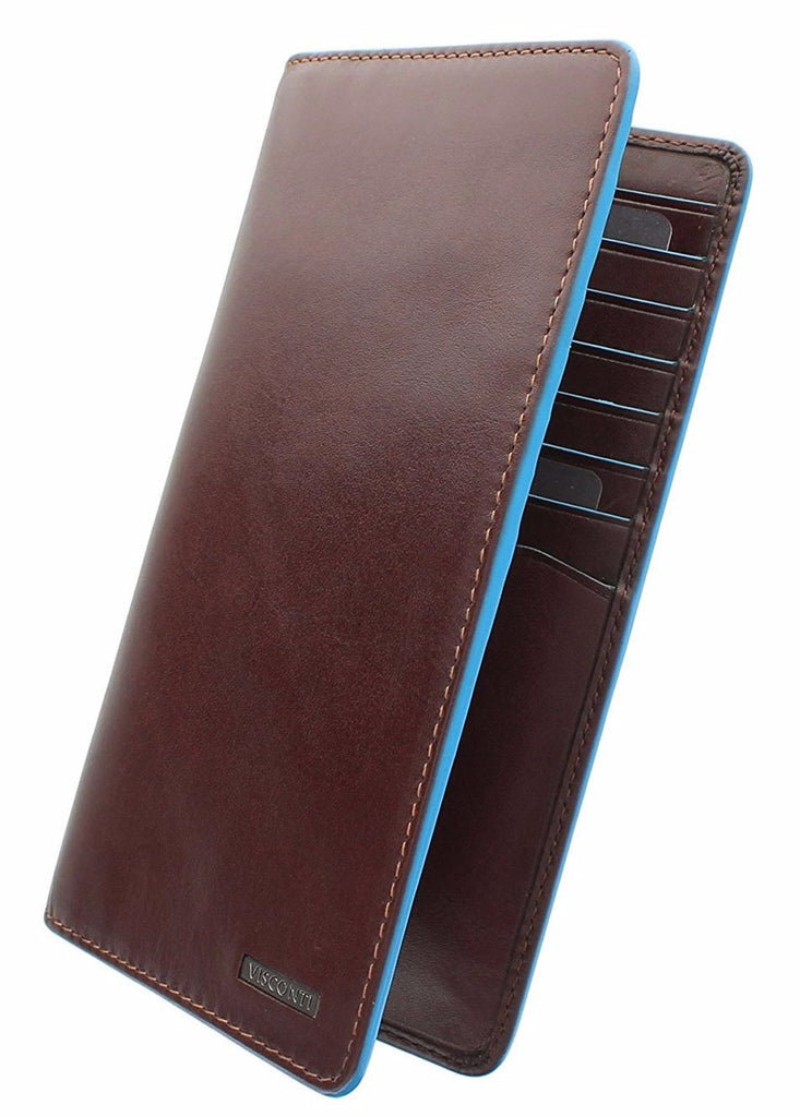 Купюрник Visconti ALP88 Jean-Paul (Brown) с защитой RFID