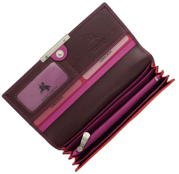 Кошелек Visconti R11 - Paloma (Plum) -  Visconti