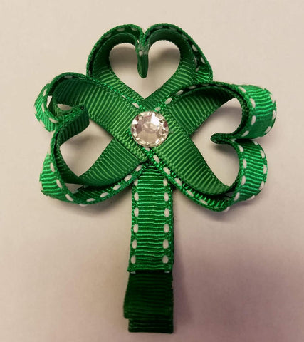 Clover - St. Patricks Day Hair Clip