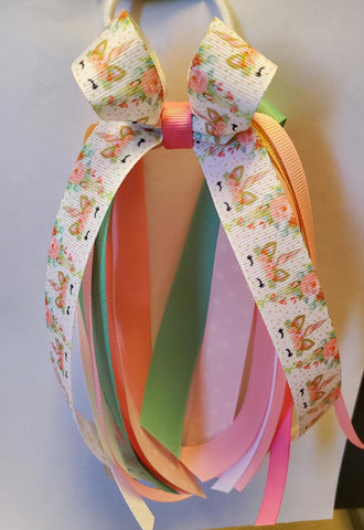 Pony Tail Holder with Streamers