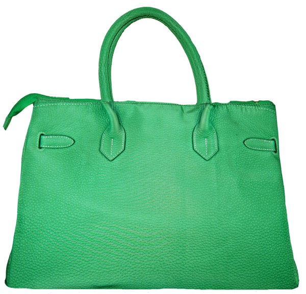 Samantha Handbag: Grassy Green