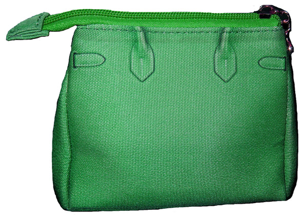 Tali Cosmetic Bag: Grassy Green