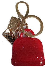Keychain: Red