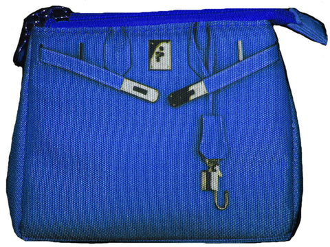 Taigen Cosmetic Pouch: Nautical Blue