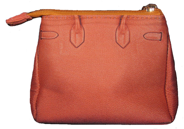 Taigen Cosmetic Pouch: Orange Crush