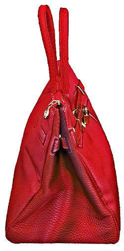 Samantha Handbag: Red