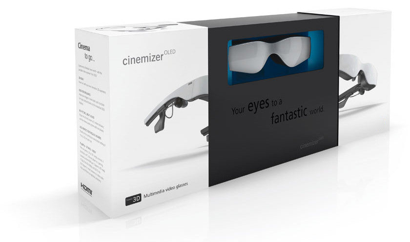 Cinemizer OLED video glasses