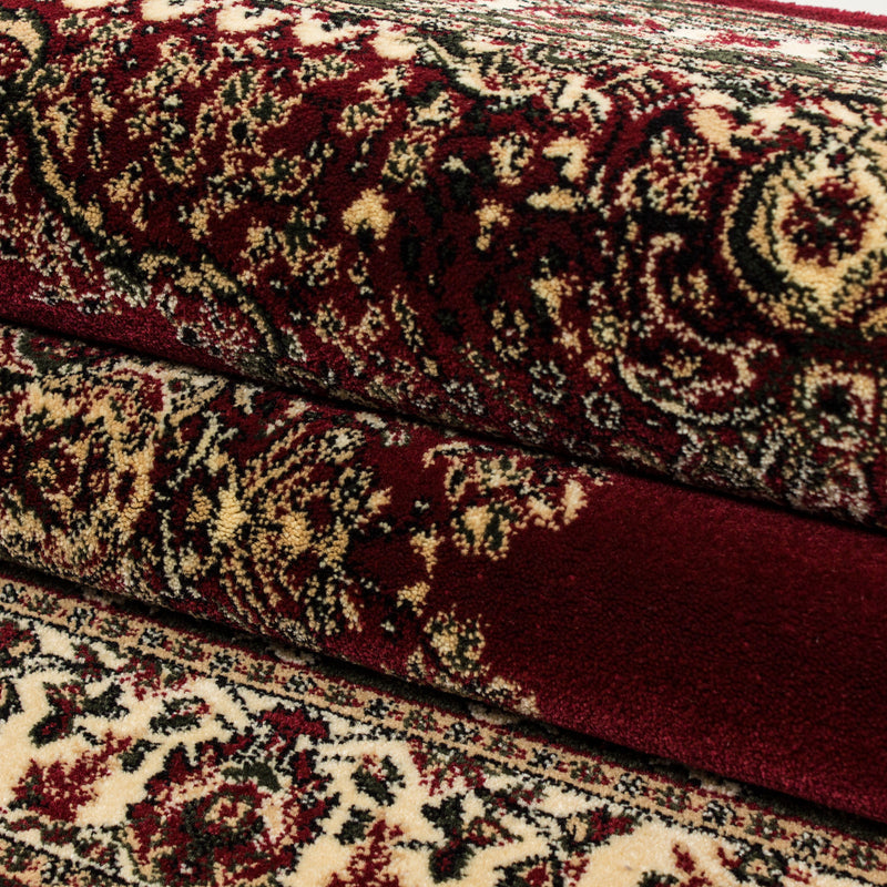 Rood Tapijt Klassiek Vloerkleed Omid Royal - Omid Carpets