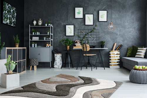 Vloerkleed Obsession Acapulco Silver 680 - Omid Carpets