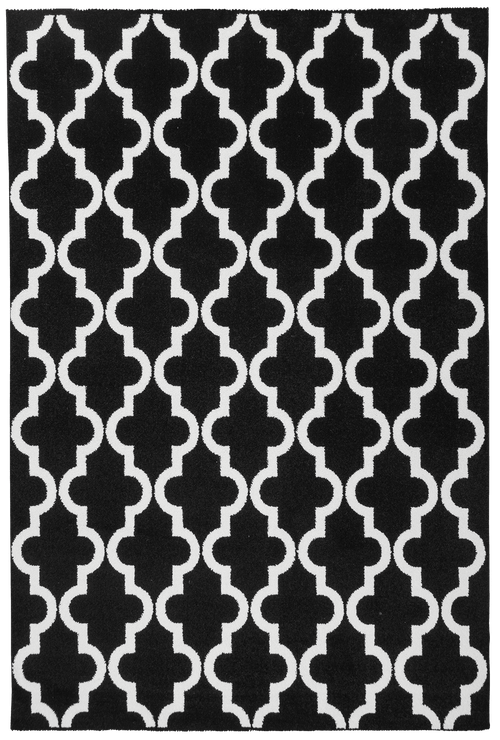 Vloerkleed Obsession Black & White Black 391 - Omid Carpets