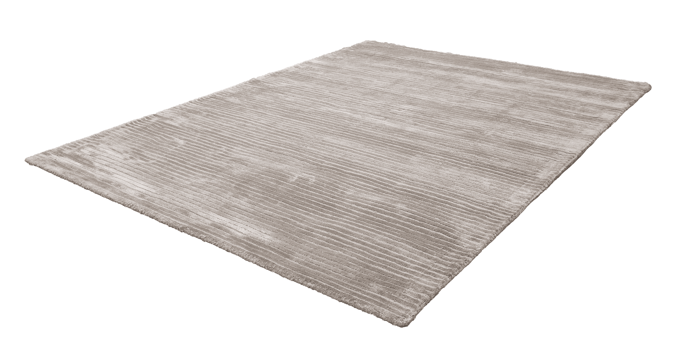 Vloerkleed Viscose Handgeweven Obsession Taupe 520