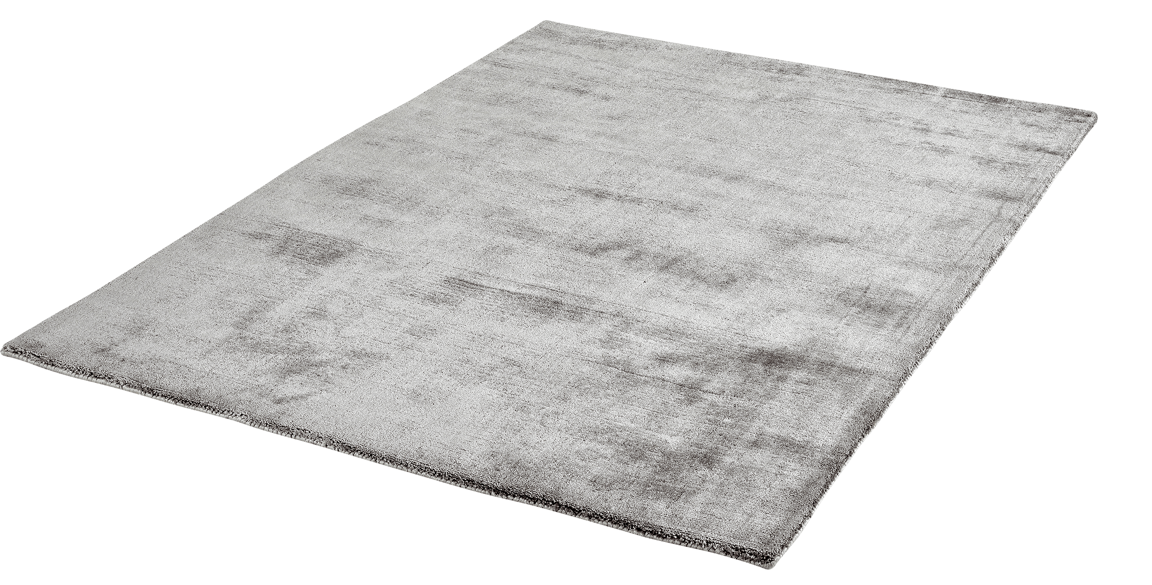 Vloerkleed Lyocell Handgeweven Obsession Breeze of Obsession Silver 150 - Omid Carpets