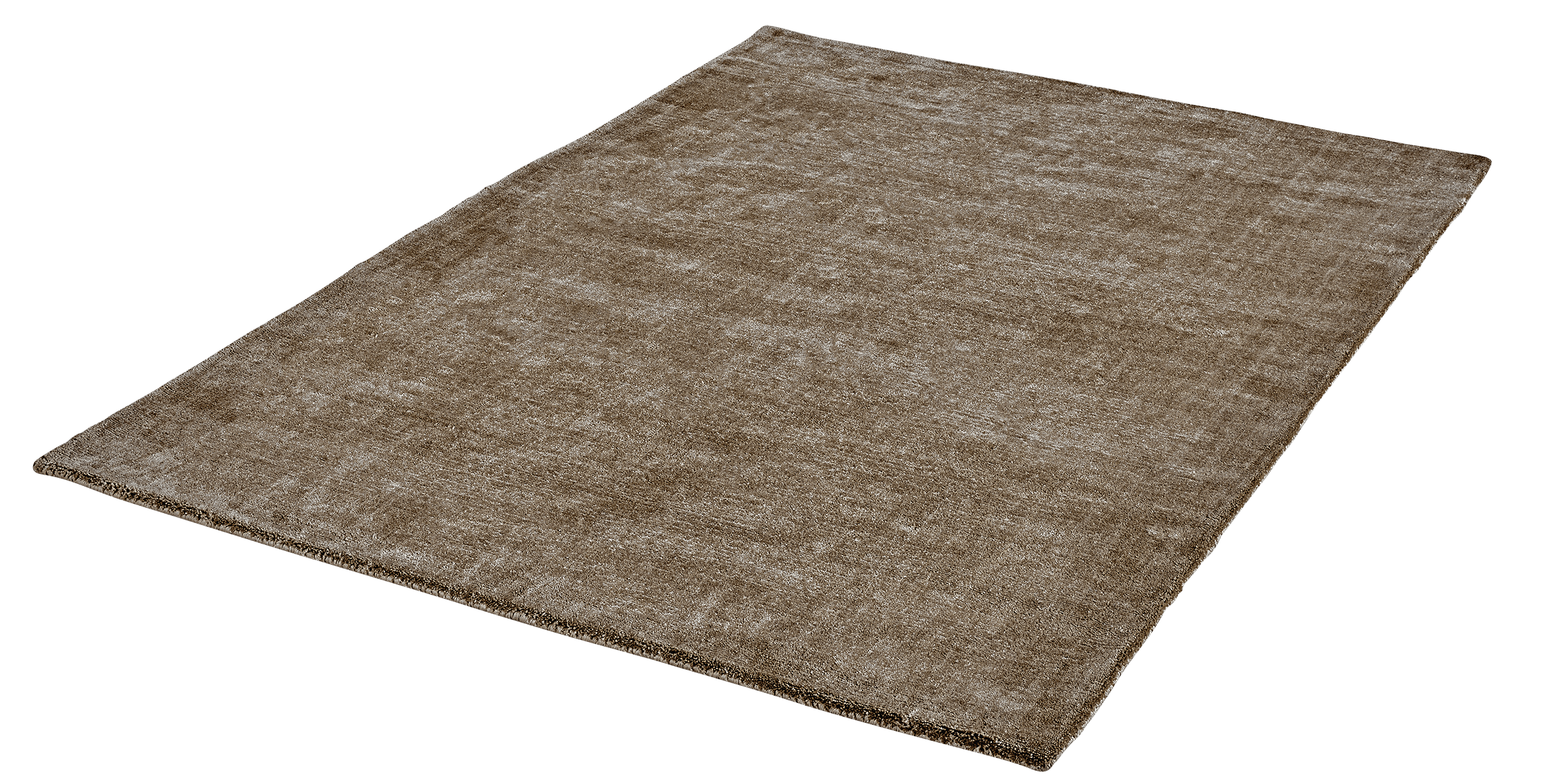Vloerkleed Lyocell Handgeweven Obsession Breeze of Obsession Taupe 150 - Omid Carpets