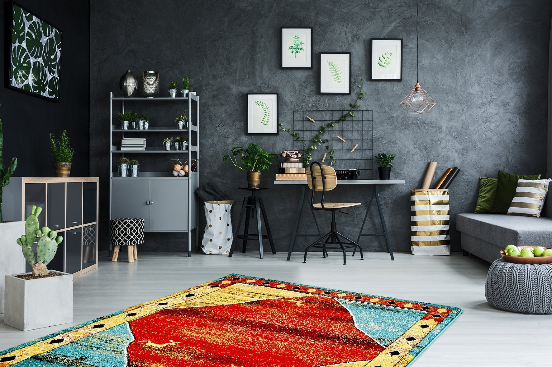 Vloerkleed Obsession Gabbeh Multi 410 - Omid Carpets