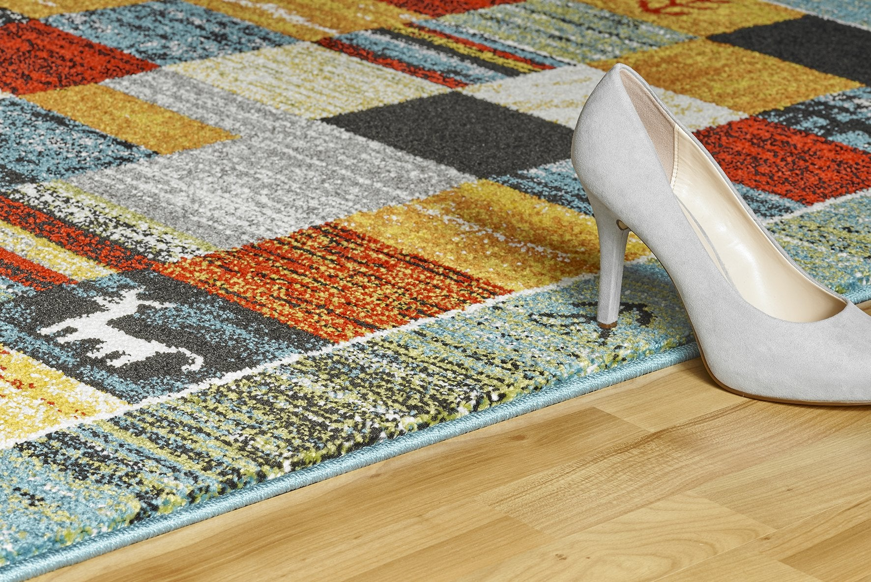 Vloerkleed Obsession Gabbeh Turquoise 411 - Omid Carpets