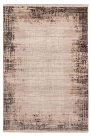 Taupe Tapijt Laagpolig Vloerkleed - Omid Stand Out 2 - Omid Carpets