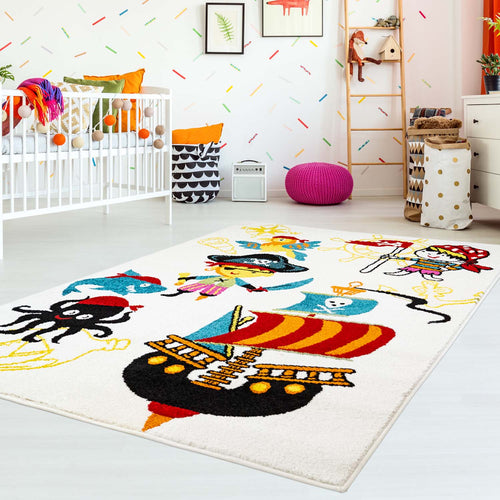 Kindertapijt Omid Piraten 2 Vloerkleed - Omid Carpets
