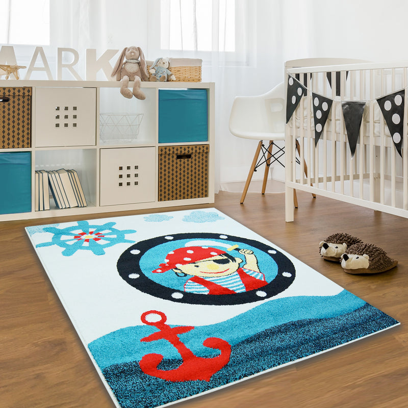 Kindertapijt Omid Piraten 1 Vloerkleed - Omid Carpets