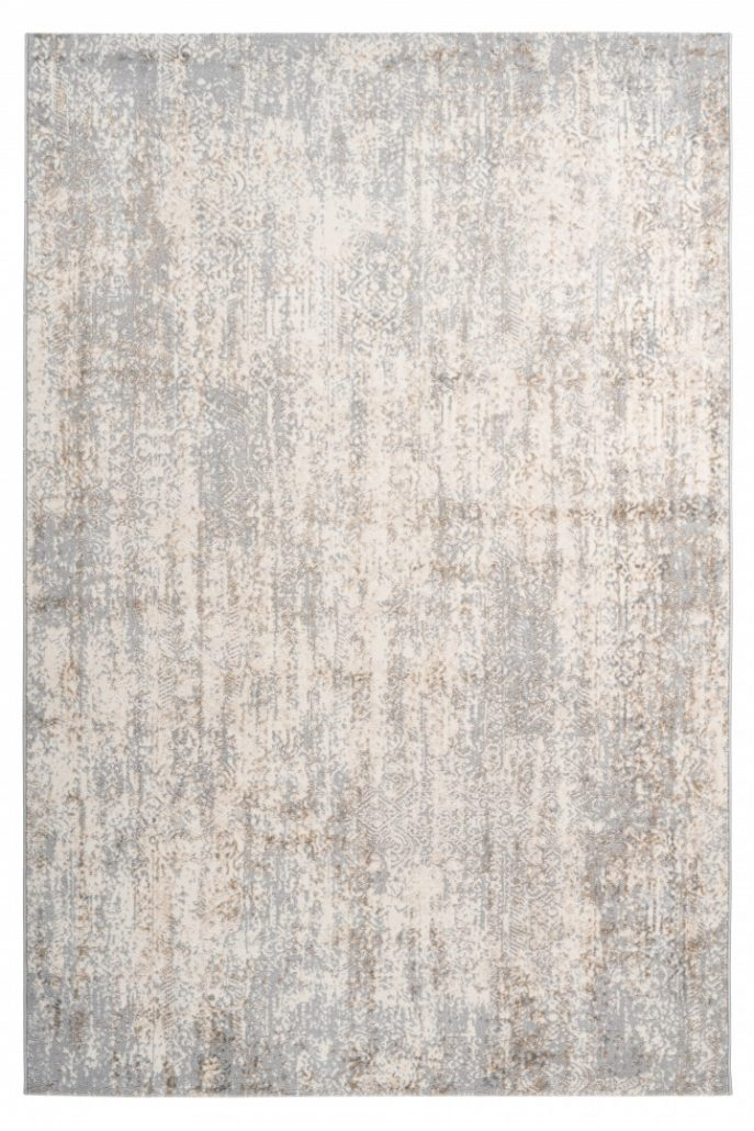 Taupe Tapijt Laagpolig Vloerkleed - Omid Abstract Mind 3 - Omid Carpets