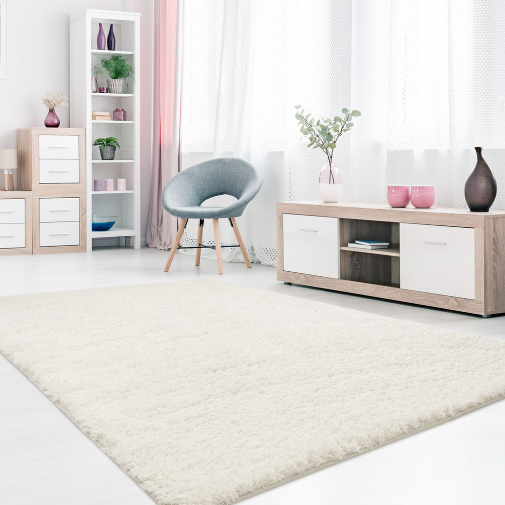 Tapijt Omid Cloud Vloerkleed Wit - Omid Carpets