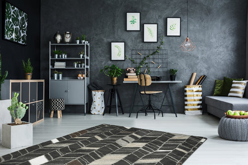 Vloerkleed Obsession Soho Anthracite 841 - Omid Carpets