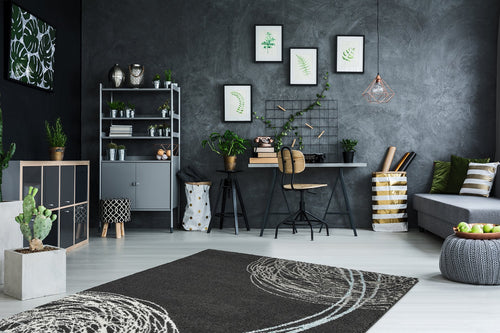 Vloerkleed Obsession Soho Anthracite 842 - Omid Carpets
