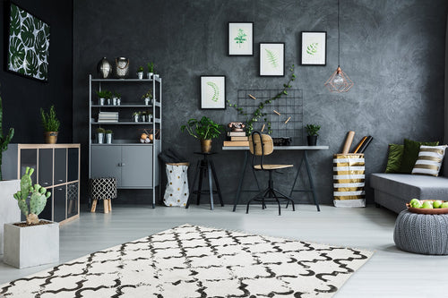 Vloerkleed Obsession Stockholm Anthracite 341