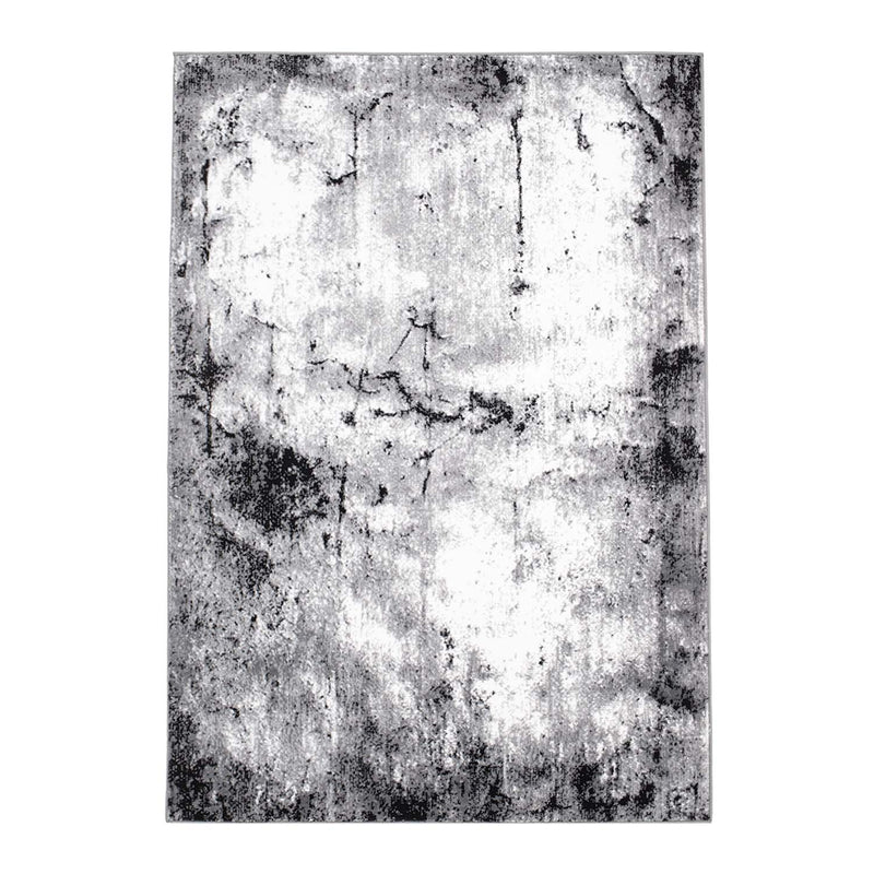 Tapijt Omid Grijstinten Abstract Vloerkleed 7 - Omid Carpets