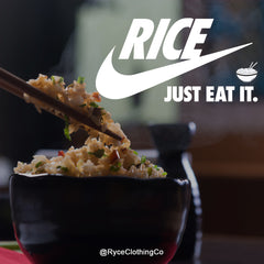 Rice Just Eat It t-shirt