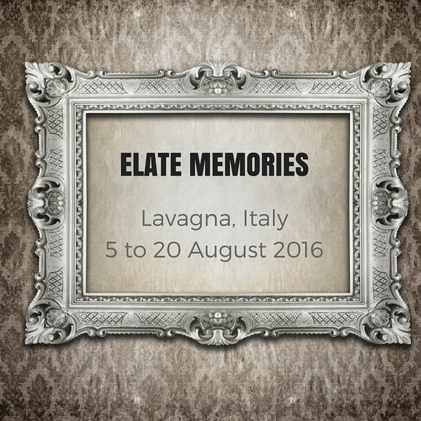 Elate Memories Contemporary Art Exhibition Lavagna Italy August 2016 - Elle Smith Artist