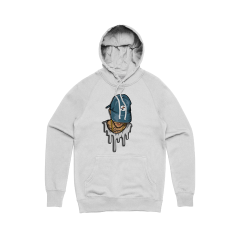 Skate Juiced Face Hoodie - White