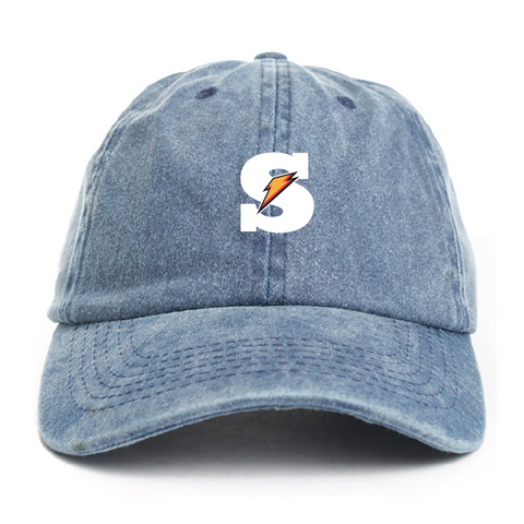 "SK8 ""Juiced"" - Denim Dad Hat"