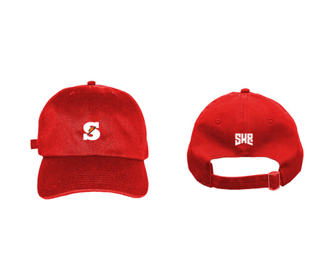"SK8 ""Juiced"" - Red Dad Hat"