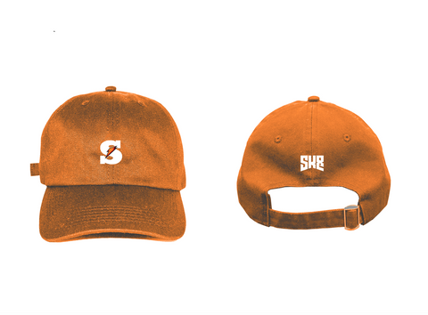 "SK8 ""Juiced"" - Burnt Orange Dad Hat"