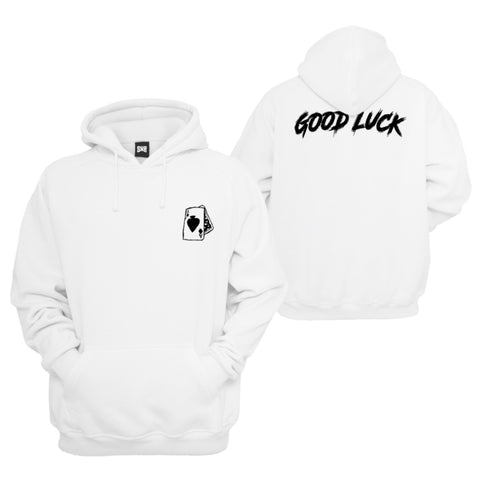 Good Luck Hoodie - White