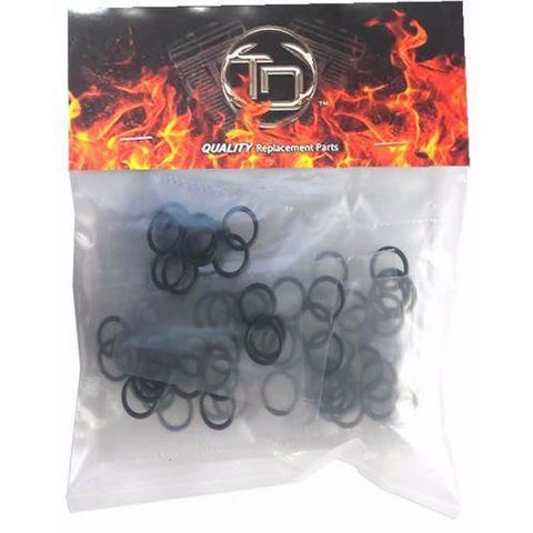 100 Pack HD 11105 Motorcycle Drain Plug O-rings