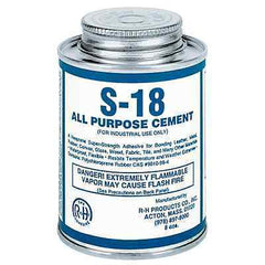 S-18 Neoprene Cement All Purpose 8 oz Can
