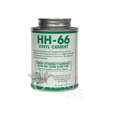 HH-66 PVC 8 oz Pool Vinyl Liner Cement Glue with Brush