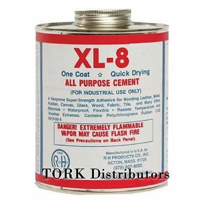 16 oz Can XL-8 Neoprene All Purpose Rubber Cement