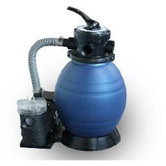 "EE Above Ground 1/3 hp pump w/12"" sand filter"